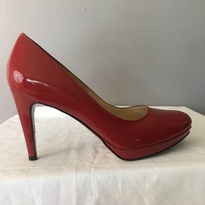 Cole Haan - Nike Air - red pumps size 10.5